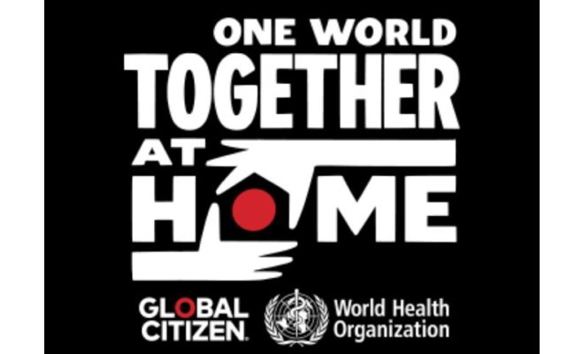 """O especial""""One World: Together At Home"""" da Sony Television"""