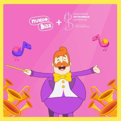 Mundo Bita em parceria com a Orquestra Petrobras Sinfônica