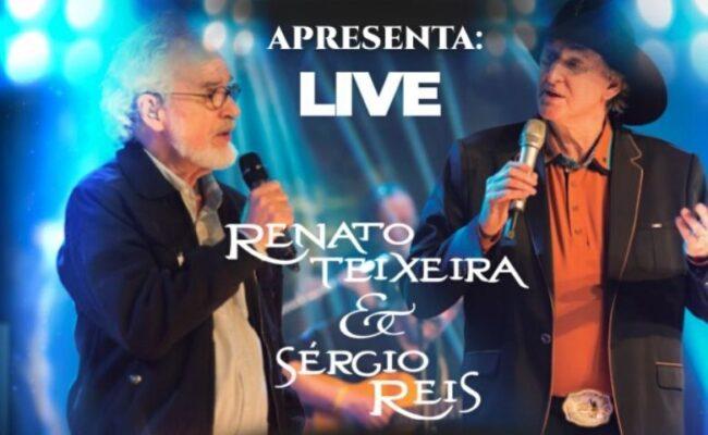 Show virtual de Sérgio Reis e Renato Teixeira