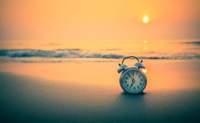 Estamos no momento de desacelerar e diminuir o ritmo