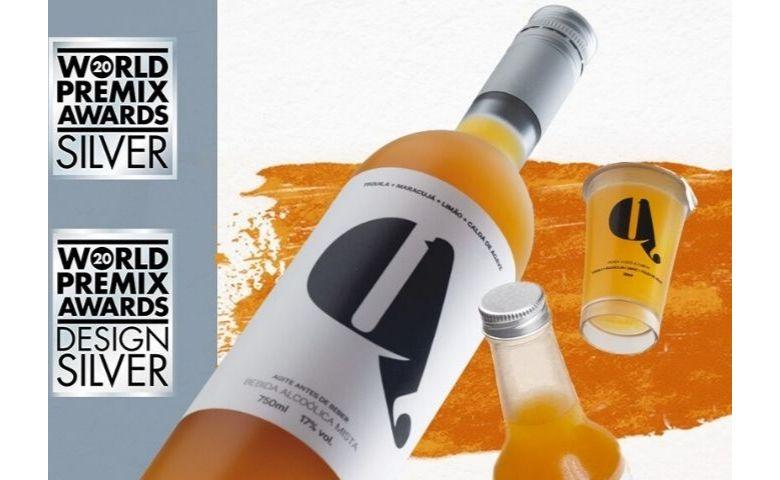 Coquetel pronto para beber recebe prêmio internacional