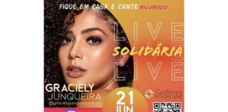 Vida para todos, live, beneficente, NaMidia, Graciely Junqueira, Janaína Araújo