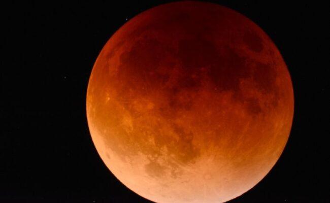 Mudanças significativas na Eclipse Lunar de 5/junho