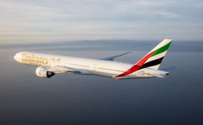 Emirates oferece conexões para 40 cidades em Dubai