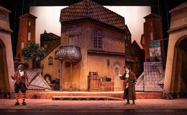 Vejam a ópera O Barbeiro de Sevilha na internet
