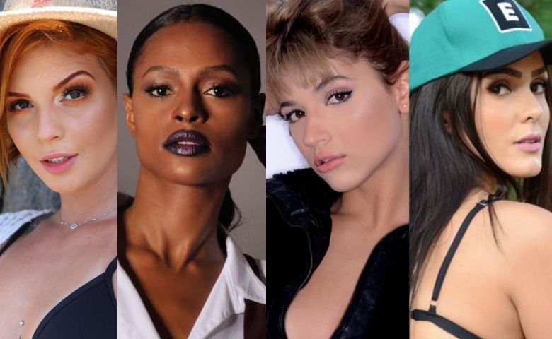 Today Models faz parceria com a Beauty Shape Model Agency- Leh Linares, Jéssica Bispo, Fernanda Valim e Cindy Diniz - Foto Divulgação