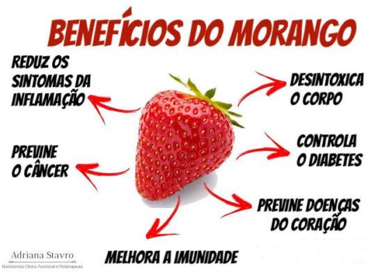 Morango é uma deliciosa fonte de vitaminas e minerais