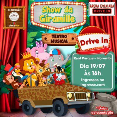 Mais uma sessão especial de Teatro Drive-in