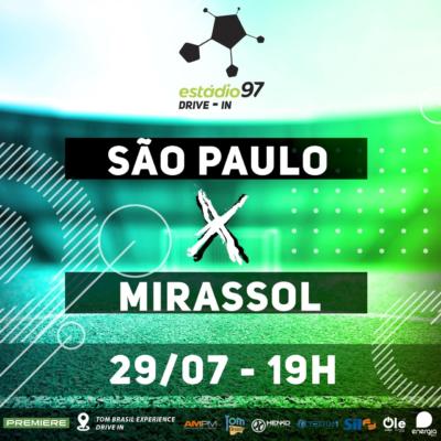 Paulistão 2020agora noTom Brasil Experience Drive