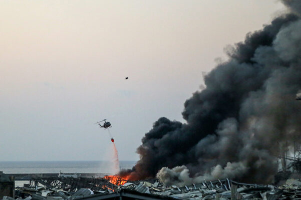 Grande catástrofe no porto de Beirute, Líbano