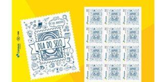 Lançamento de selos comemorativos pelos Correios