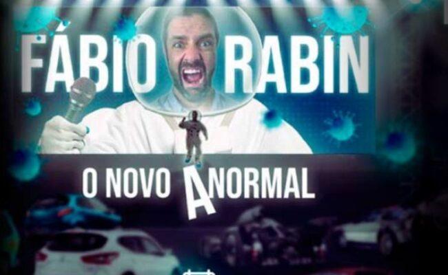 Fabio Rabin com O Novo Anormal no Tom Brasil
