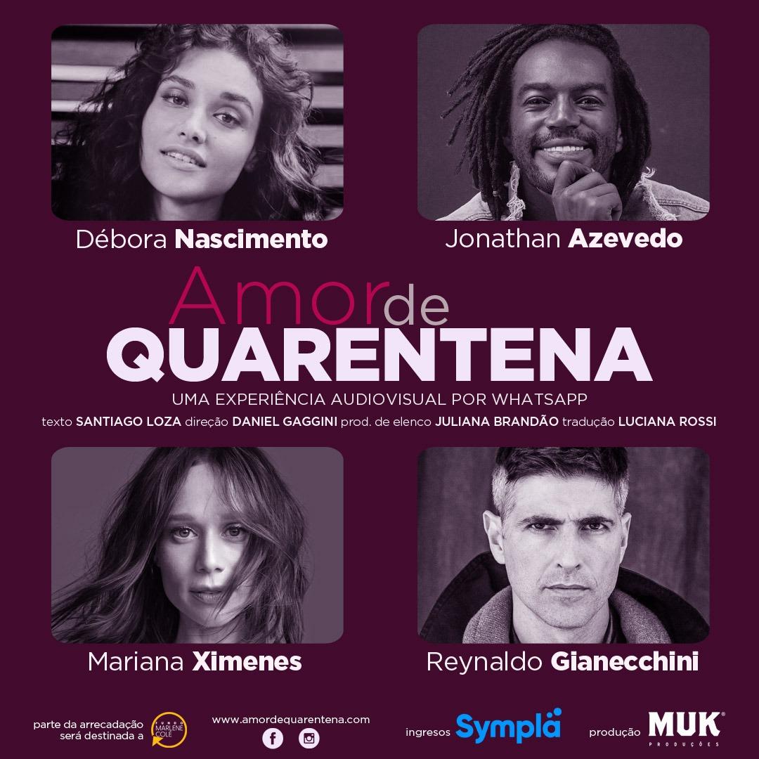 """""""Amor de Quarentena"""" realizado em mais de seis países"""