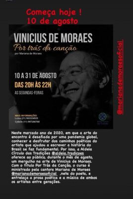 """Vinícius de Moraes em """"Por Trás da Canção"""""""