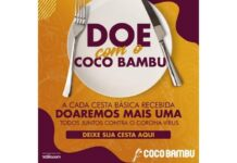 Coco Bambu faz Ação Social