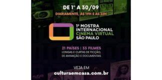 Embaixada da Nicarágua participa da 1ª Mostra Internacional de Cinema Virtual de São Paulo
