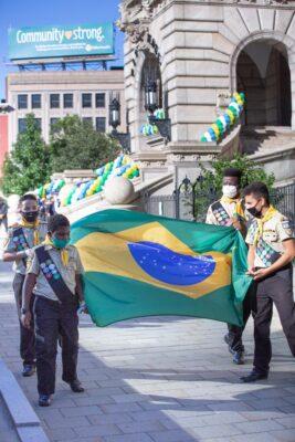 Cidade americana celebra Independência do Brasil