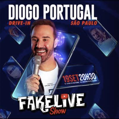 Diogo Portugalao vivo comFakeLive Show