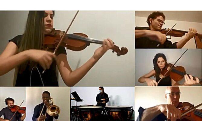 Celebração de aniversário da Orquestra Sinfônica de Brasília