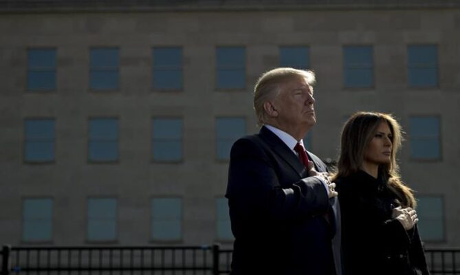 O casal Trump testa positivo para Coronavírus