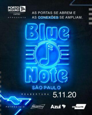 O Blue Note São Paulo reabre suas portas