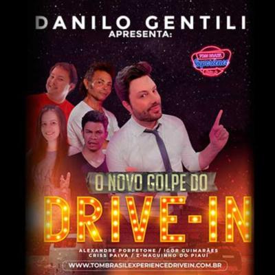 Danilo Gentili no Tom Experience Drive In