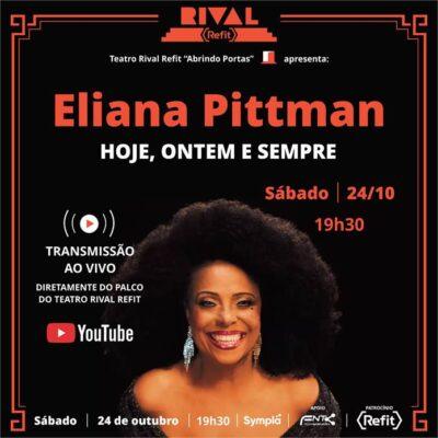 Especial Eliana Pittman com transmissão ao vivo