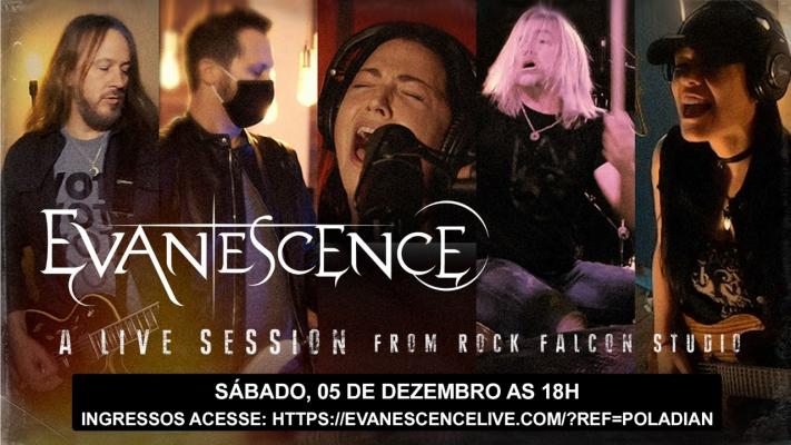 Banda Evanescence fará a sua primeira apresentação pública