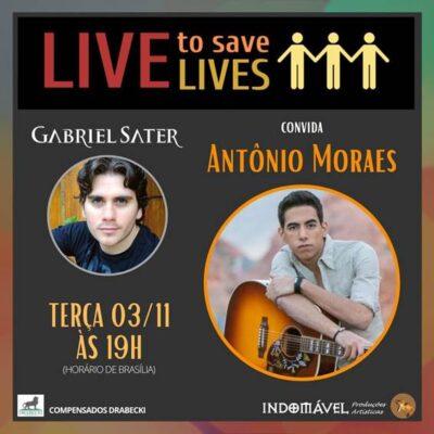 """""""LIVE TO SAVE LIVES"""" para salvar vidas"""