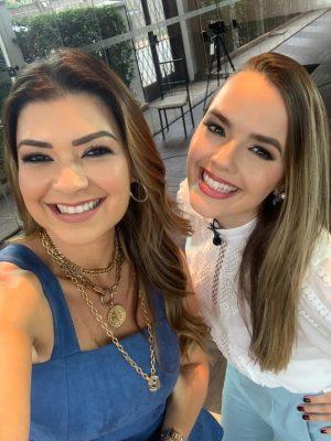Amanda Françoso entrevista a cantora Thaeme