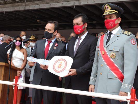 Bombeiros celebram aniversário do patrono Dom Pedro II