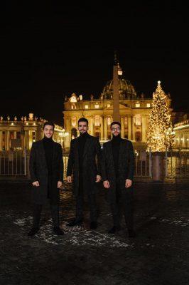 Il Volo faz especial de Natal na Piazza San Pietro
