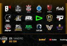 reproducao twitter da free fire esports brasil, divulgacao