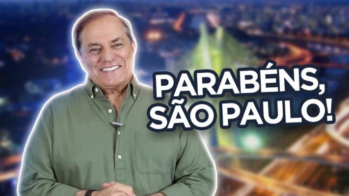 Ronnie Von faz uma linda homenagem a São Paulo