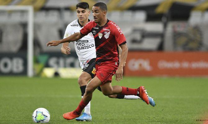 Corinthians e Athletico-PR ficam no empate