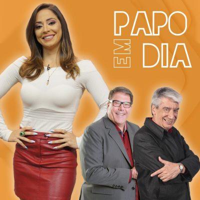 De volta o programa Papo em Dia da Rede Brasil