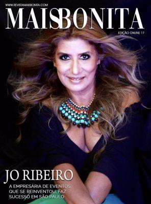 Jornalista Jo Ribeiro é capa da revista MaisBonita