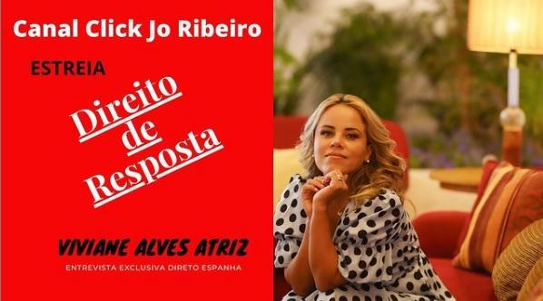 Direito de Resposta estreia com Viviane Alves