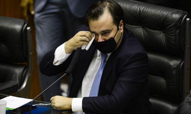 Rodrigo Maia se despede da presidência da Câmara