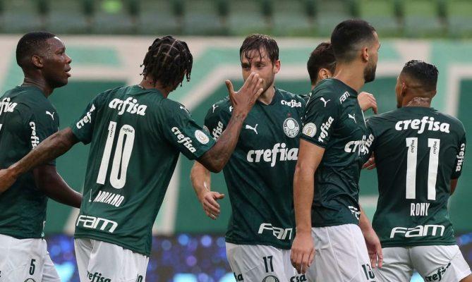Atlético-GO empata em 1 a 1 com Palmeiras