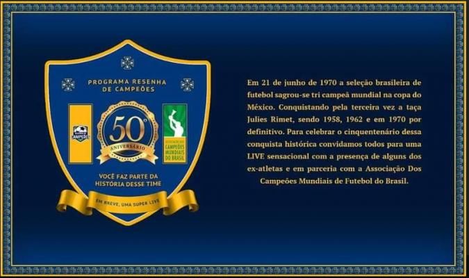 Projeto Cultural resgata memória do futebol brasileiro