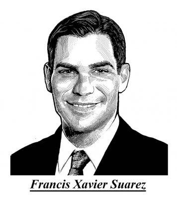 A rotina agitada do prefeito de Miami -  Francis Suarez