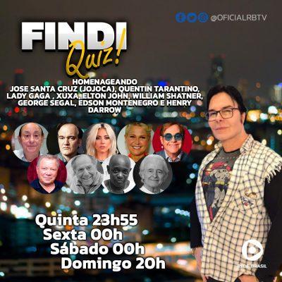 Findi Quiz é o programa recordista de audiência da RBTV
