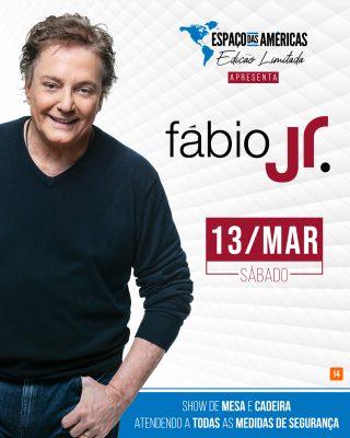 Show de Fábio Jr. após um ano de confinamento