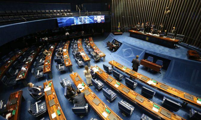 Hoje o Senado aprovou em segundo turno a PEC Emergencial