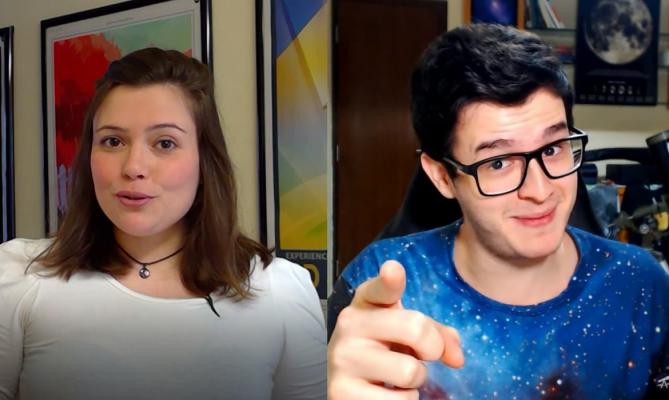 Youtubers divulgam ciência com humor e recursos visuais