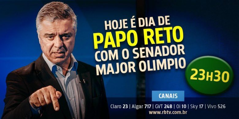 Falece o Senador da República Major Olímpio