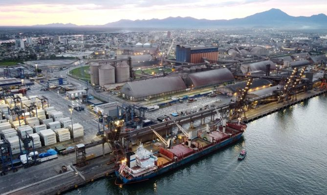 Na pandemia setor Portuário movimenta 1.15Bi toneladas