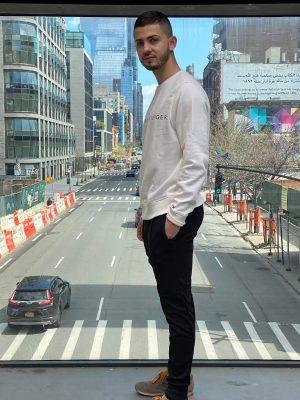 Modelo brasileiro segue carreira internacional nos EUA