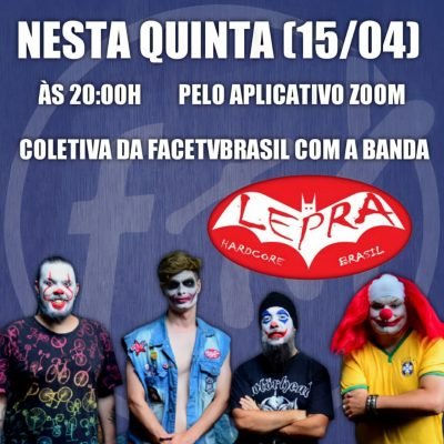 """A banda Lepra está lançando o single """"Pão e Circo"""""""
